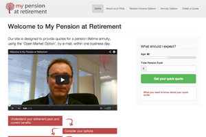 Pension lifetime annuity quotes